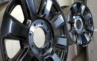 Gloss black wheels