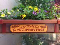 flower planter HDU sign