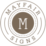 Mayfair Signs Logo