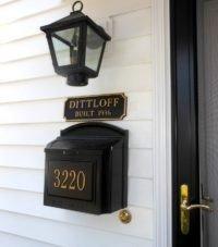 mailbox sign
